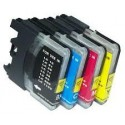 18MLL Brother Compatible LC61Y  LC980Y LC1100Y ALTA CAPACITA