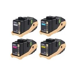 Black rigenerat for Epson Aculaser C9300 Serie -7.5KS050605