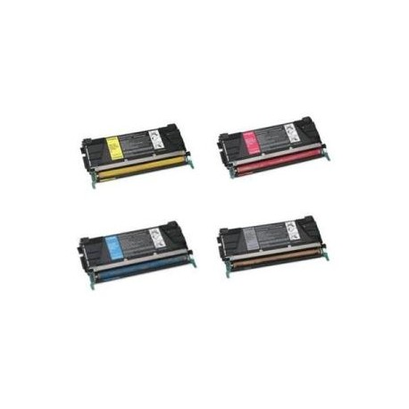Magente rigenerate for Lexmark C 734,736,738.6KC734A1MG