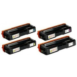 Yellw Compatibile Ricoh Aficio SP C252DN,C252SF -6K407534