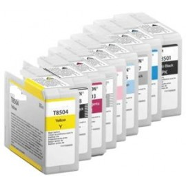 80ML Pigmento compatible SC-P800DES,P800SE,P800SP-Yellow