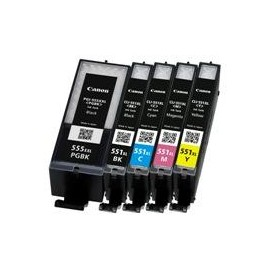 11ML Com for Canon Pixma IP7250,MG5450,MG6350CLI-551XLBK.