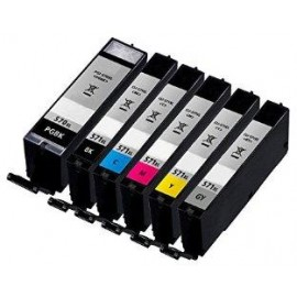10.8ML Without chip Canon MG5700,MG6800,MG7700CLI-571bkXL
