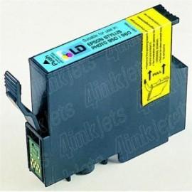 12ML Com Epson P50 1400 PX650 700 710 800 -Ciano Foto T0795