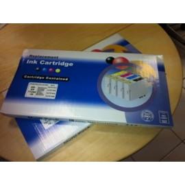 10 Cartucce Com T01631-1632-1633-1634 (4x black+6 color)