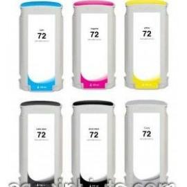 130ml Dye Yellow for HP Designjet T1100,T1200,T1300,T230072
